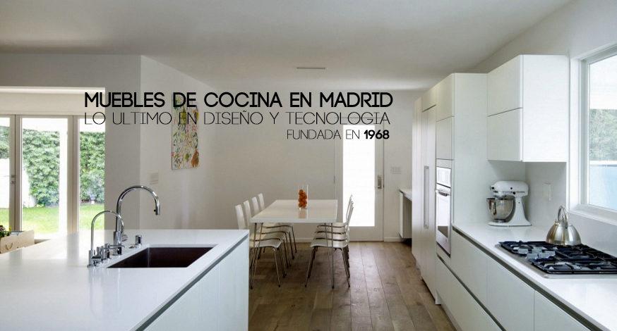tienda muebles de cocina madrid